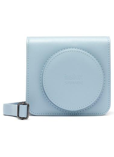 Fujifilm Instax SQ1 Buz Mavi Deri Çanta Mavi